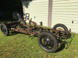 1933 Lanchester LA10 Rolling Chassis