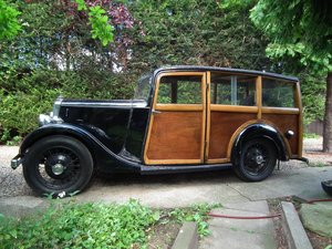1935 Lanchester Shooting Brake ( Woodie )