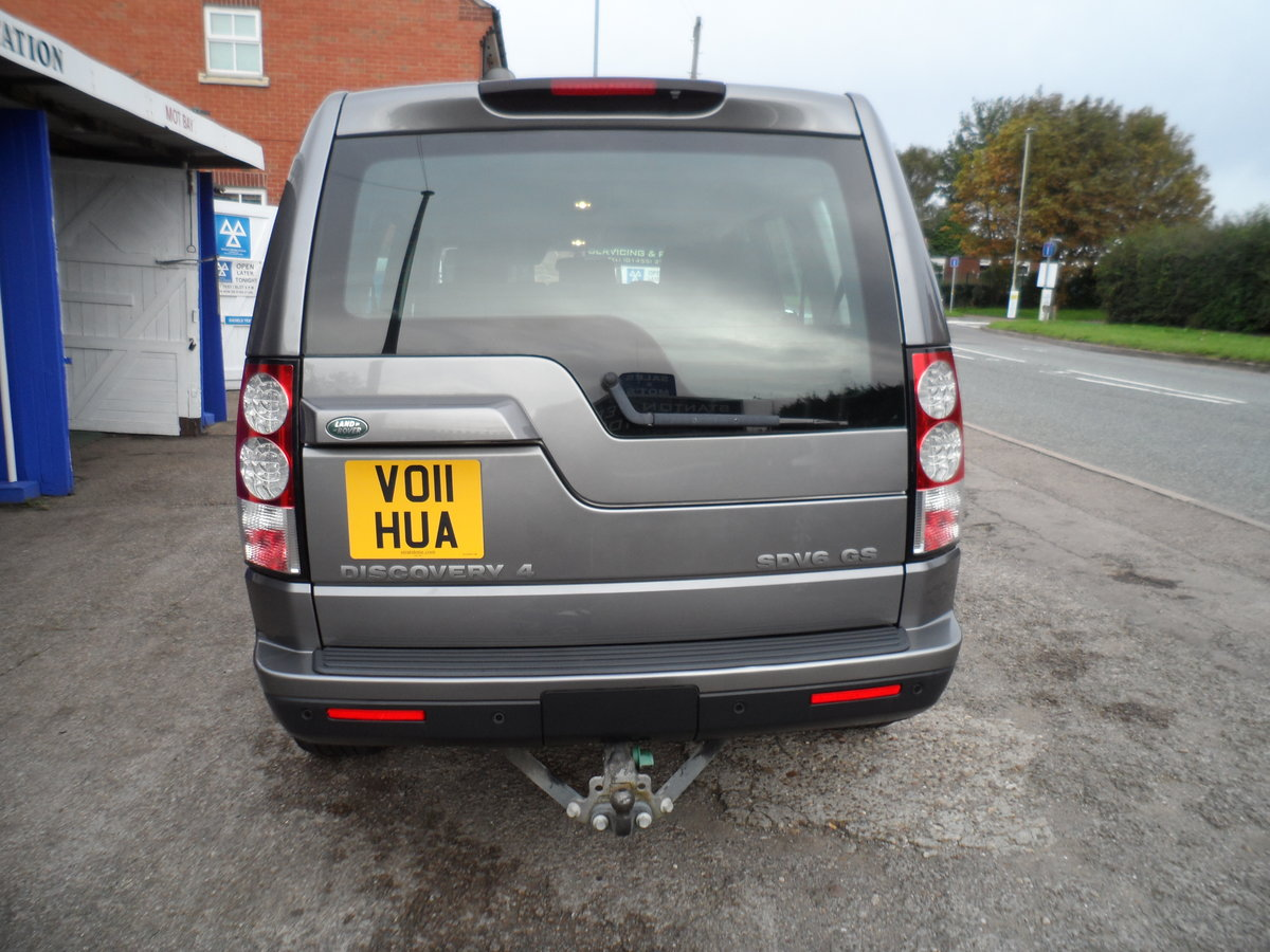 2011 SMART DISCOVERY 4 AUTOMATIC 3LTR DIESEL 7 SEAT WITH TOW BAR For Sale (picture 4 of 6)