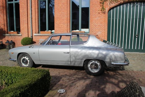 Very rare Injection Lancia Flavia Sport Zagato from 1966 SOLD (picture 2 of 6)