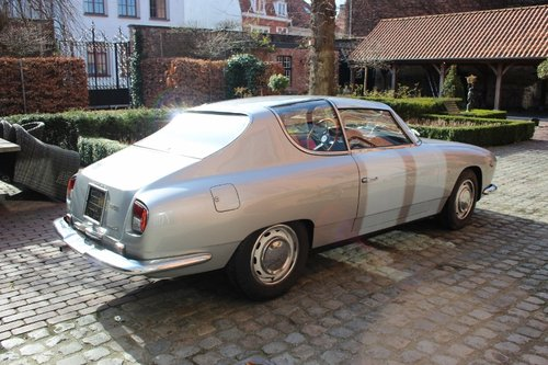 Very rare Injection Lancia Flavia Sport Zagato from 1966 SOLD (picture 4 of 6)