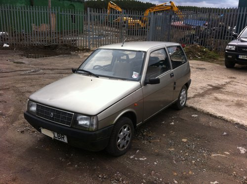 Lancia Y10 Fire LX 1987 spares or repairs SOLD (picture 1 of 6)