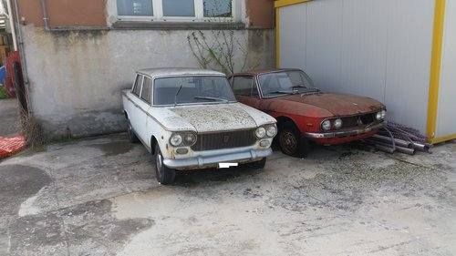 1971 LANCIA FULVIA COUPE' 1.3 S + FIAT 1300 For Sale (picture 1 of 3)