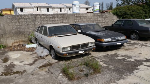 1982 LANCIA GAMMA 2.0 + ROVER 2.4 S For Sale (picture 2 of 3)