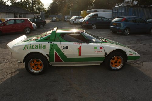 1989 Lancia Stratos Replica - Hawk HF2000  SOLD (picture 1 of 6)