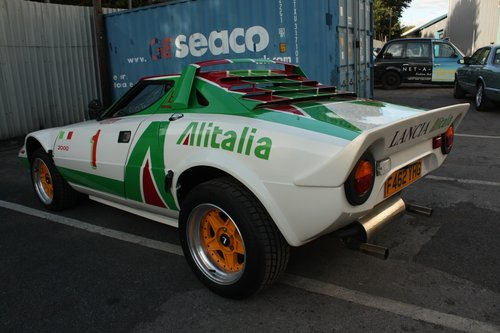1989 Lancia Stratos Replica - Hawk HF2000  SOLD (picture 3 of 6)