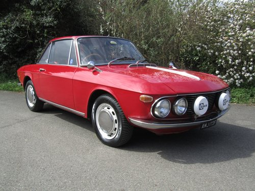 1968. Lancia Fulvia 1300 Coupe, series 1 RHD. For Sale (picture 1 of 6)