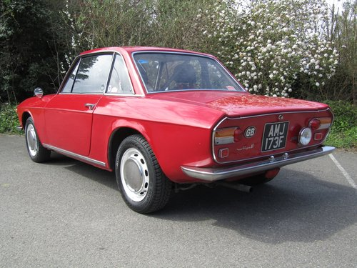 1968. Lancia Fulvia 1300 Coupe, series 1 RHD. For Sale (picture 2 of 6)