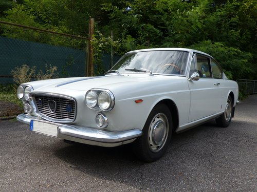 1964 Beautiful and rarely original Lancia Flavia Coupe 1800 For Sale (picture 2 of 6)