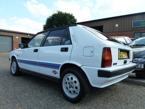 1990 LANCIA DELTA HF TURBO IE Stunning, Martini Stripes For Sale (picture 4 of 6)