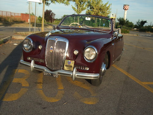1950 Lancia Aurelia B50 Farina Factory For Sale (picture 2 of 6)