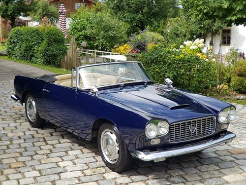 1961 Lancia Flaminia 2.5 1C Touring Convertible For Sale (picture 1 of 6)