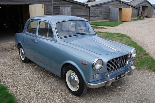 1960 Lancia Appia S3 Berlina, LHD, UK Reg, Serviced, V original For Sale (picture 1 of 6)