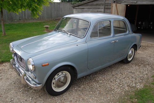 1960 Lancia Appia S3 Berlina, LHD, UK Reg, Serviced, V original For Sale (picture 5 of 6)