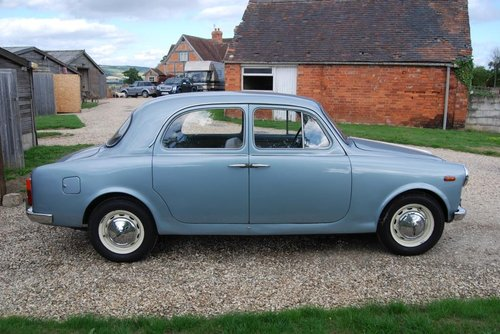 1960 Lancia Appia S3 Berlina, LHD, UK Reg, Serviced, V original For Sale (picture 6 of 6)