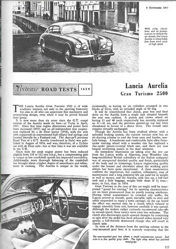 1954 Wanted: Lancia Aurelia B20GT Wanted (picture 2 of 5)