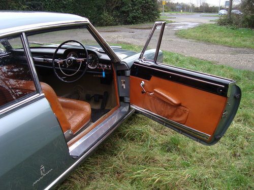 1960 Lancia Flaminia Pinafarina 2.5 Coupe RIGHT HAND DRIVE For Sale (picture 4 of 6)