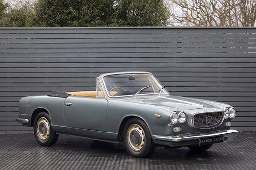 1963 Lancia Vignale Convertible RHD SOLD (picture 1 of 6)