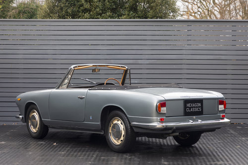 1963 Lancia Vignale Convertible RHD SOLD (picture 2 of 6)