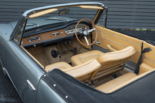 1963 Lancia Vignale Convertible RHD SOLD (picture 5 of 6)