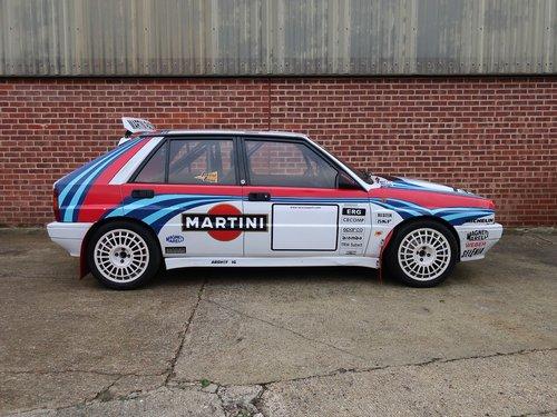 1990 Lancia Delta HF Integrale 16V 'Martini' Rally Spec For Sale (picture 2 of 6)
