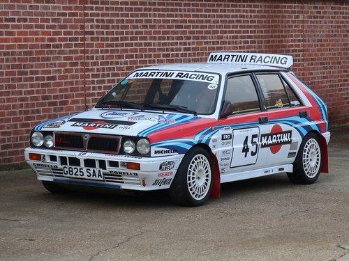 1990 Lancia Delta HF Integrale 16V 'Martini' Rally Spec For Sale (picture 6 of 6)