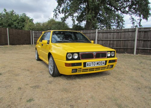 1994 Lancia Delta Integrale EvoII Giallo Ginestra SOLD (picture 1 of 6)