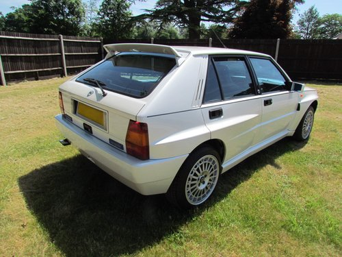 1994 Lancia Delta Integrale EvoII Bianco Perlato For Sale (picture 2 of 6)