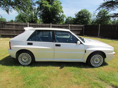 1994 Lancia Delta Integrale EvoII Bianco Perlato For Sale (picture 6 of 6)