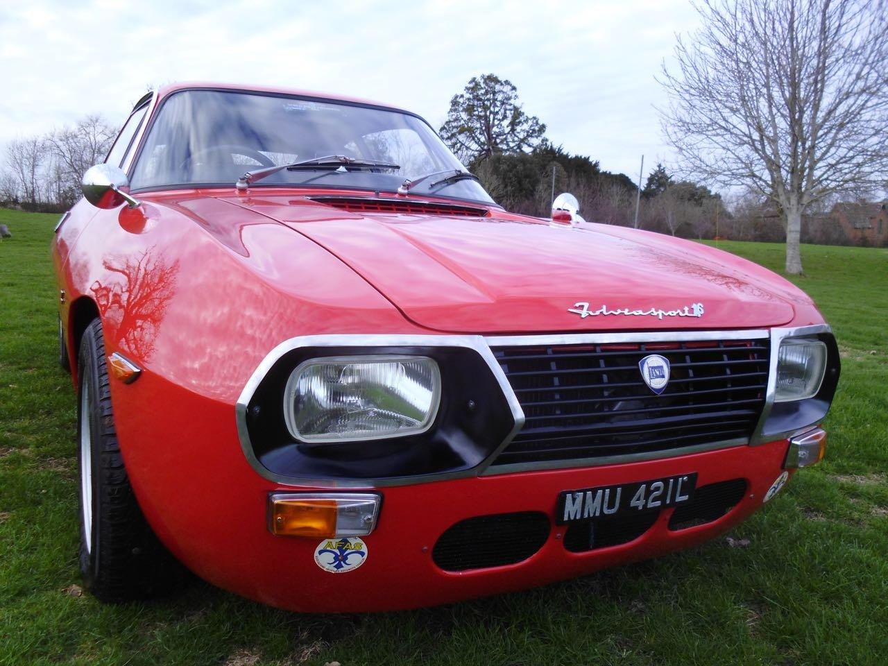 1972 Lancia Fulvia 1.6 HF Zagato Sport right hand drive SOLD (picture 1 of 6)