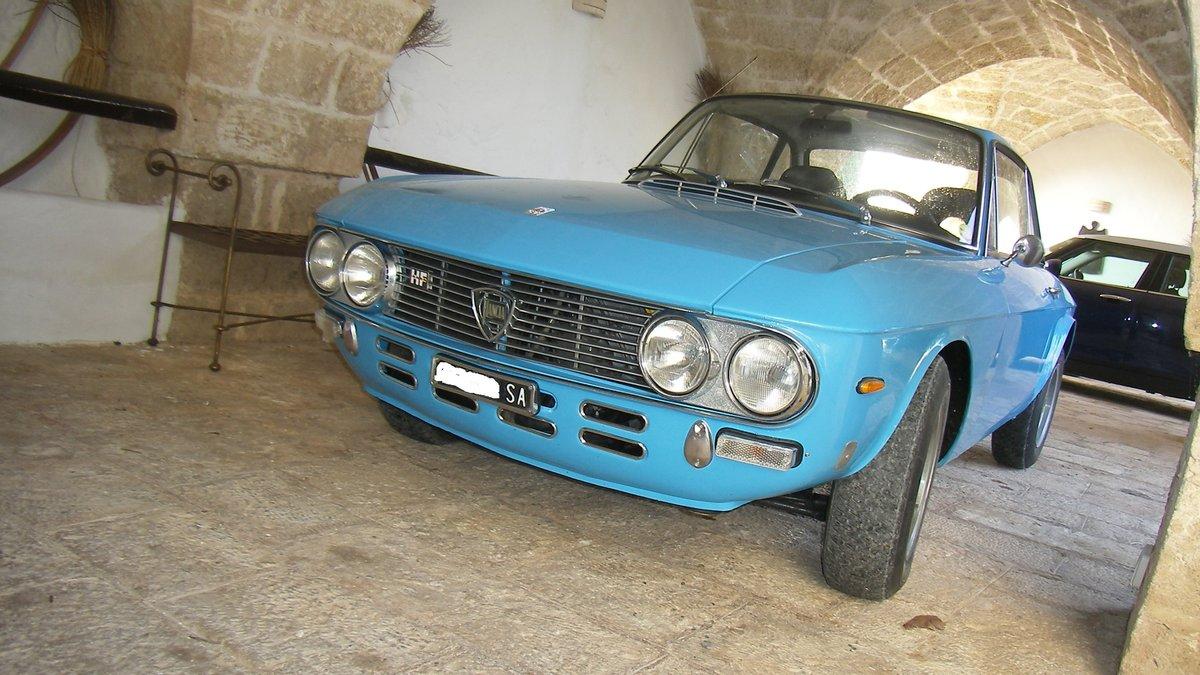 LANCIA FULVIA HF 1600 Year 1972 - TARGA ORO For Sale (picture 1 of 6)