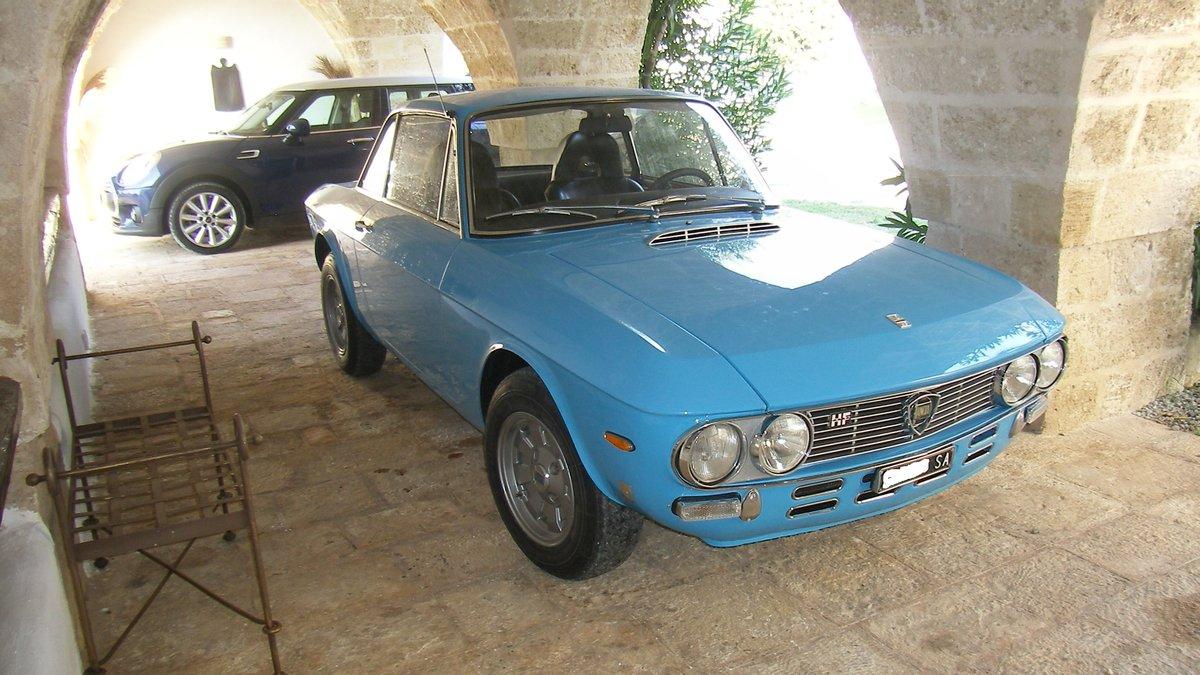 LANCIA FULVIA HF 1600 Year 1972 - TARGA ORO For Sale (picture 2 of 6)