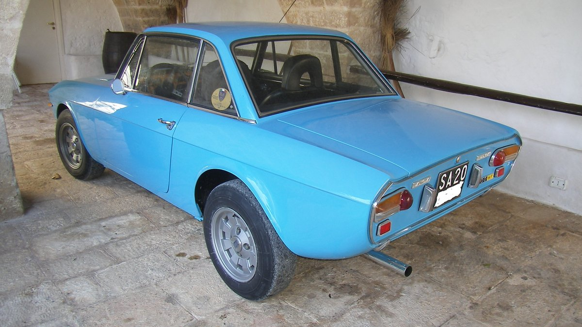 LANCIA FULVIA HF 1600 Year 1972 - TARGA ORO For Sale (picture 3 of 6)