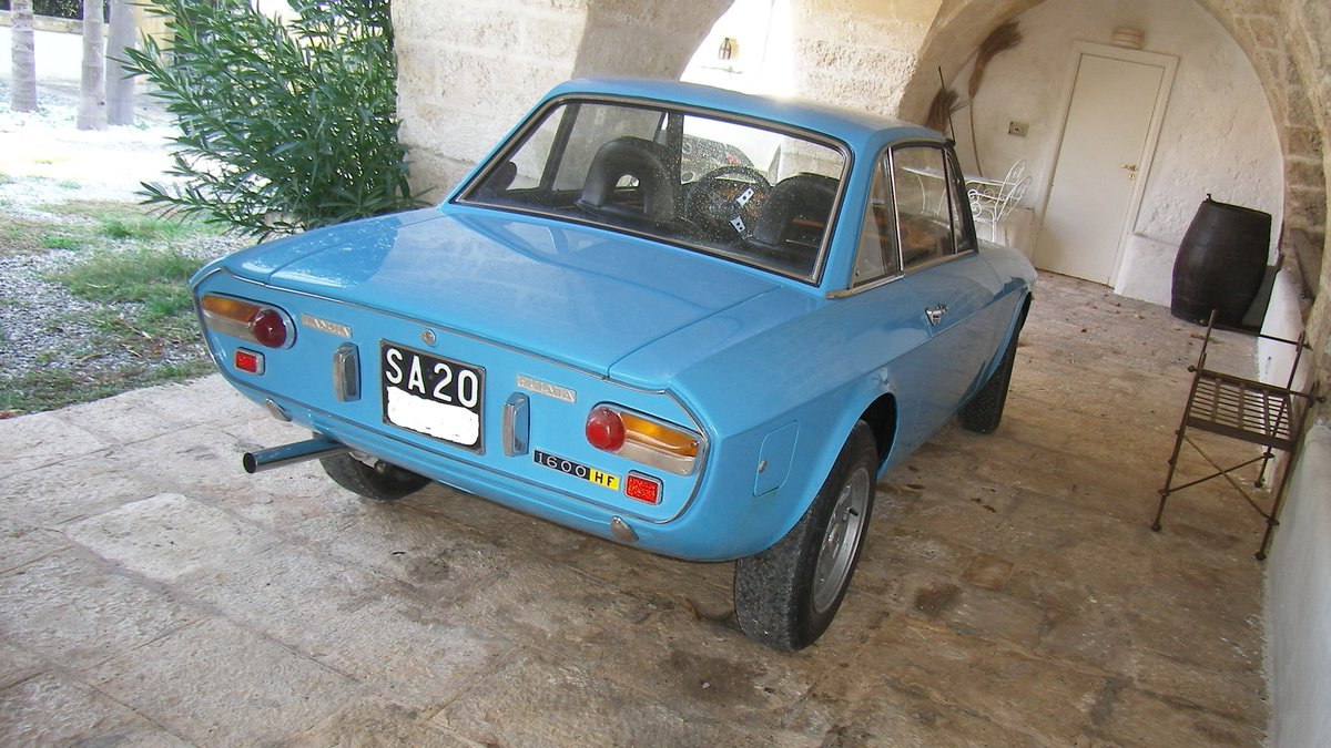 LANCIA FULVIA HF 1600 Year 1972 - TARGA ORO For Sale (picture 4 of 6)