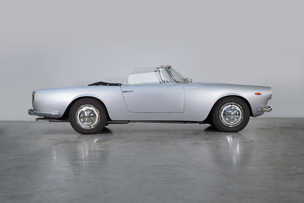 1960 Lancia Flaminia GT Convertible by Touring SOLD (picture 1 of 5)