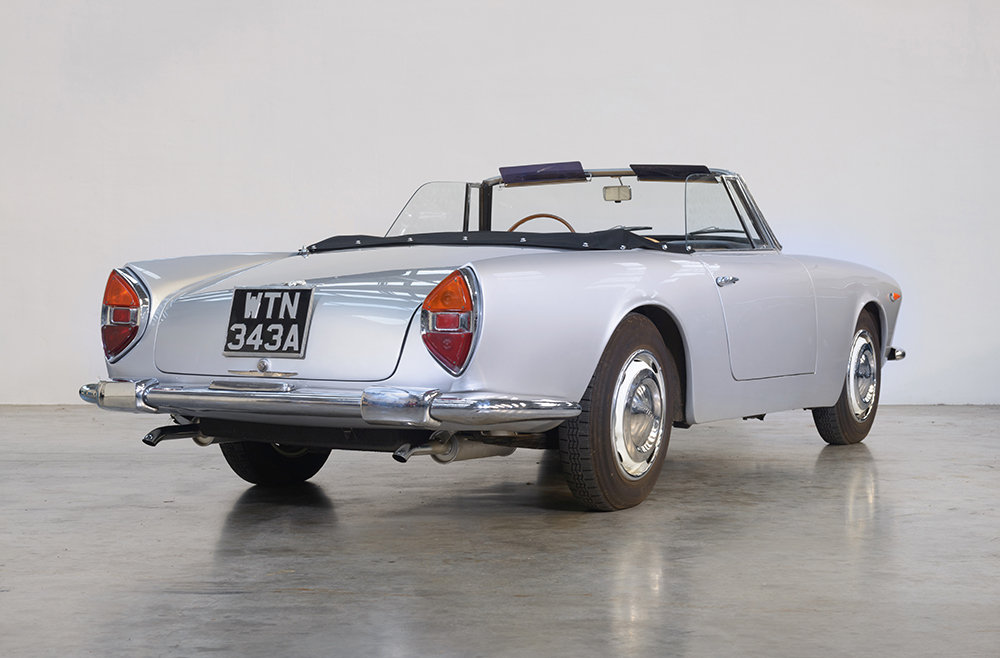 1960 Lancia Flaminia GT Convertible by Touring SOLD (picture 4 of 5)