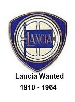 lambda,asturia,appia,aurelia,flaminia, Wanted