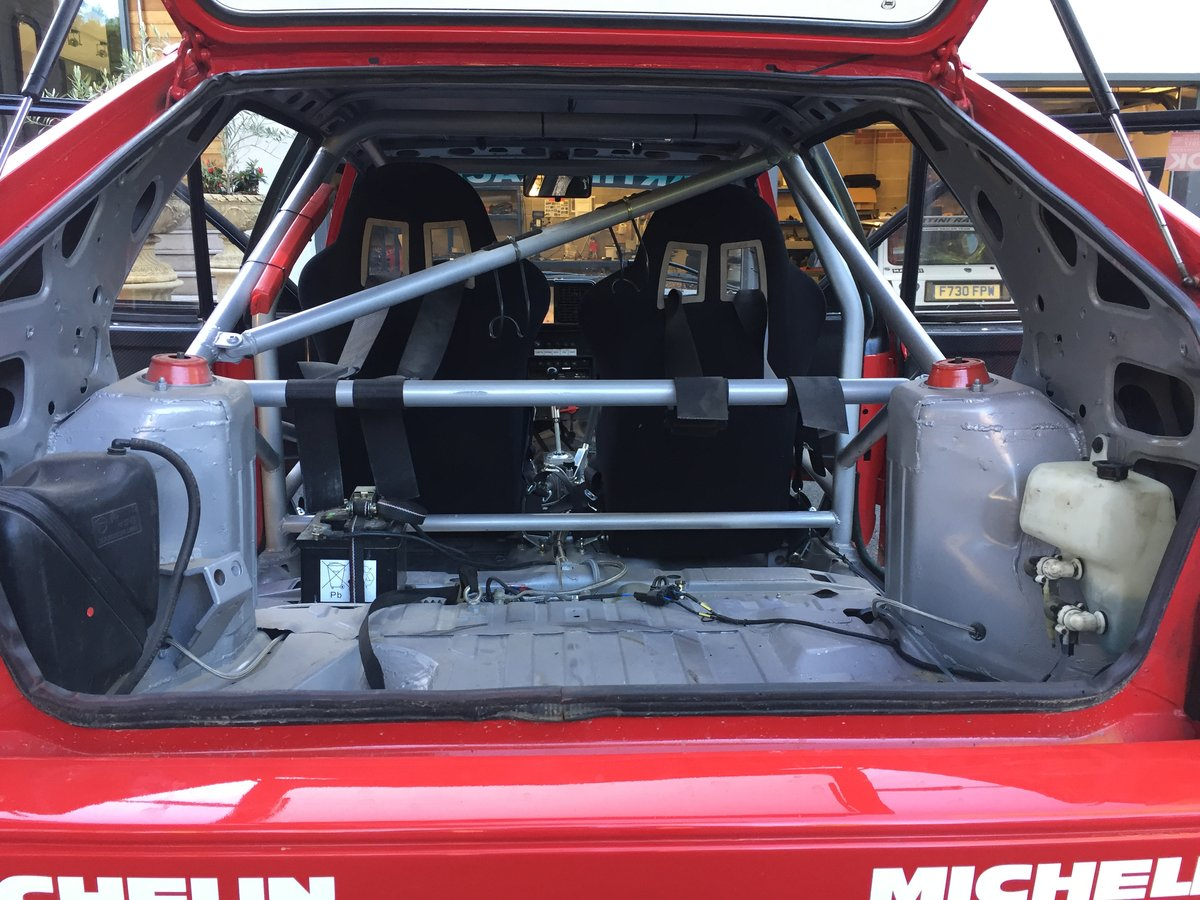 1989 Lancia Delta Integrale 8V rally car For Sale (picture 5 of 6)