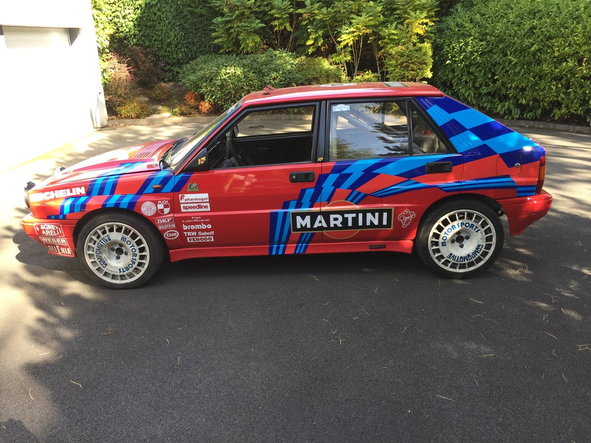 1989 Lancia Delta Integrale 8V rally car For Sale (picture 1 of 6)