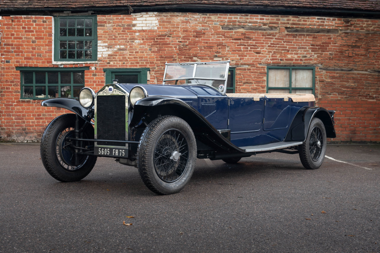 1929 LANCIA LAMBDA 8TH SERIES TORPEDO TOURER For Sale (picture 1 of 6)