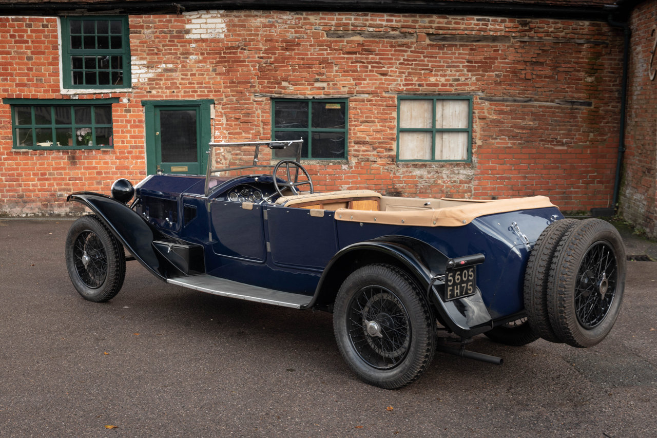 1929 LANCIA LAMBDA 8TH SERIES TORPEDO TOURER For Sale (picture 3 of 6)