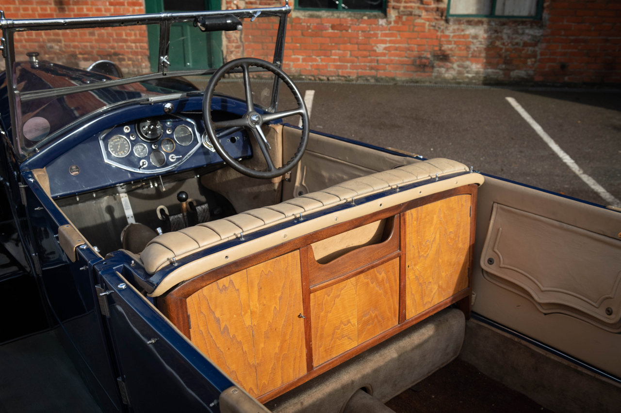 1929 LANCIA LAMBDA 8TH SERIES TORPEDO TOURER For Sale (picture 4 of 6)