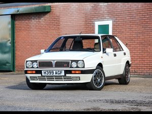 1990 Lancia Delta Integrale 16V Just £16,000 - £20,000 For Sale by Auction
