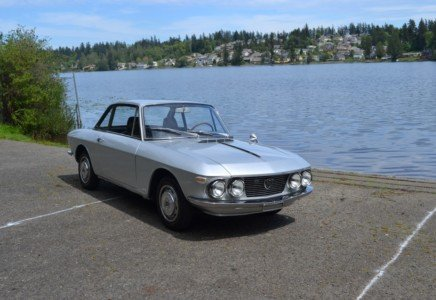 1969 Lancia Fulvia Rallye 1.3S = Clean Silver Driver $27.9k For Sale (picture 2 of 6)