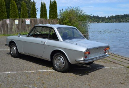 1969 Lancia Fulvia Rallye 1.3S = Clean Silver Driver $27.9k For Sale (picture 3 of 6)