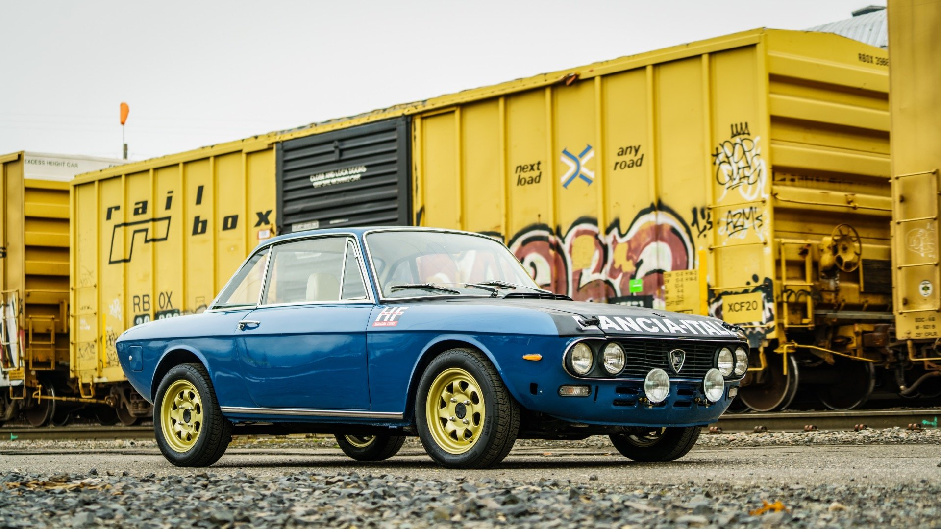 1974 Lancia Fulvia 1.3S = Blue Driver 5 speed 9k miles $23k For Sale (picture 2 of 6)