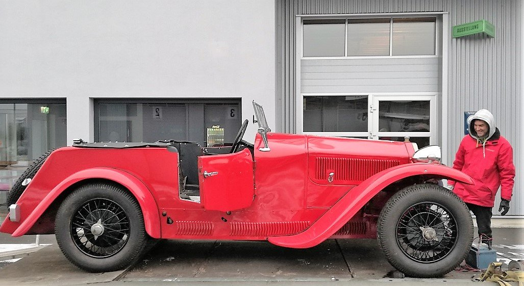 1930 lancia Dilambda chassis 27-344  SOLD (picture 2 of 4)