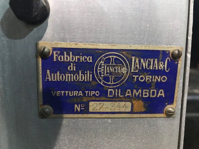 1929 Lancia Dilambda v8  for sale For Sale (picture 3 of 4)