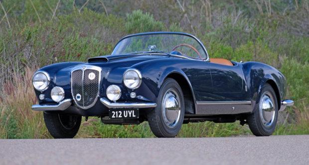 1955 Lancia B24-S Spider America = Rare + Correct 52k miles For Sale (picture 1 of 6)