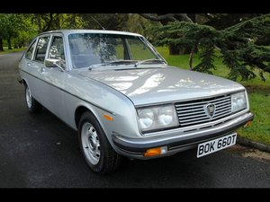 1979 LANCIA BETA BERLINA 2.0 AUTO - LOW MILEAGE SOLD